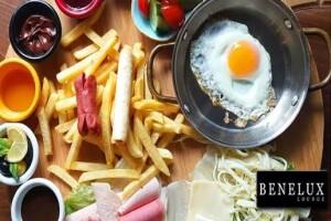 Salacak Sahil Yolu Benelux Lounge Üsküdar'da Kızkulesi'ne Nazır Kütükte Kahvaltı veya Kahvaltı Tabağı