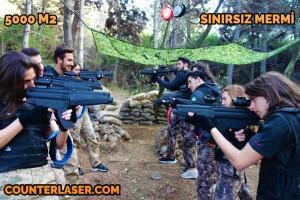Counter Laser Tag Sınırsız Mermili Açık Hava Lazer Oyunu