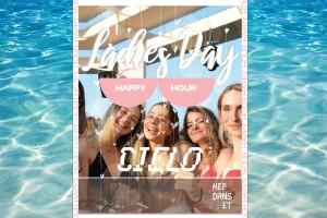 KafePi Çeşme'de Her Çarşamba CİELO Ladies Day 'Beach Girişi & Happy Hour'
