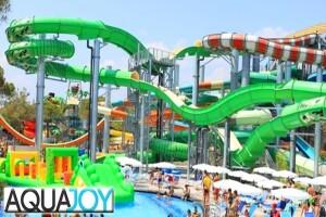 Antalya Manavgat'ın En Büyük ve Modern Su Parkı Aquajoy'da Günlük Giriş Bileti
