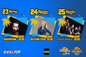 23-24-25 Ağustos Sapanca Fest 2019 Giriş Bileti