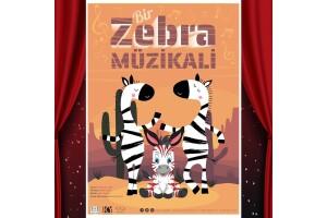 'Bir Zebra Müzikali' Çocuk Oyunu Tiyatro Bileti