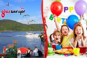 Göze Sarıyer Teras'ta Doğum Günü, Baby Shower, Özel Gün Kutlamaları & Menü Seçenekleri