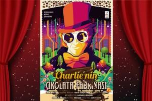 Dünyaca Ünlü Eser 'Charlie'nin Çikolata Fabrikası' Müzikli Çocuk Tiyatro Oyunu Bileti
