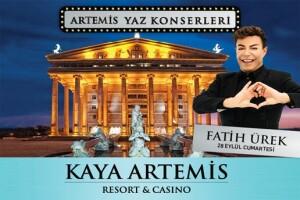 Kıbrıs Kaya Artemis'te 28 Eylül Fatih Ürek Galası Dahil Tatil Paketleri