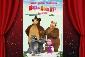 Çocukların Sevgilisi Rus Yapımı Çizgi Dizisi 'Maşa İle Koca Ayı' Çocuk Tiyatro Oyunu Bileti