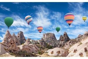 Hafta Sonuna Özel 1 Gece 2 Gün Yarım Pansiyon Konaklamalı Kapadokya Turu