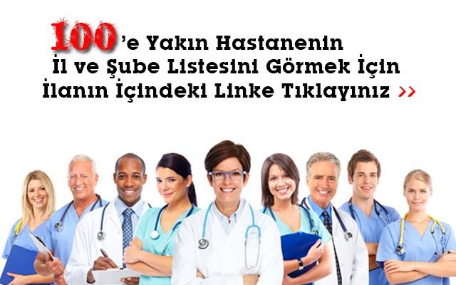 Türkiye'nin Saygın Sağlık Kurumlarından Alabileceğiniz Standart veya Kapsamlı Check-Up Hizmeti
