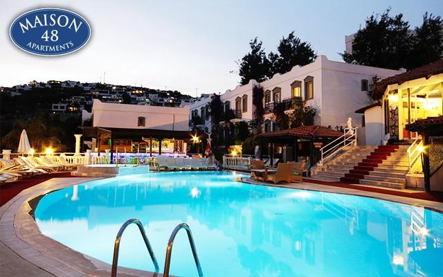 Bodrum Maison 48 Apart Hotel'in Kaliteli Hizmeti ve Bodrum'un Muhteşem Ambiyansı Eşliğinde Kurban Bayramı'nda da Geçerli Konaklama Seçenekleri