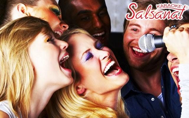 Salsanat Karaoke'de Limitli Alkol Dahil Eğlence