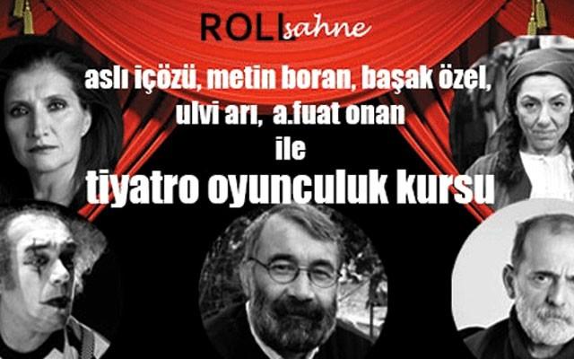 Beyoğlu Roll Sahne'den Doğaçlama Yaratıcı Drama, Tiyatro veya Oyunculuk Kursu