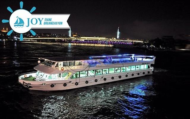 Boğazın İncisi Joy Tekne'de Muhteşem Ramazan Akşamları