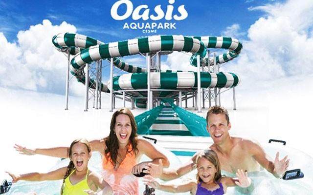 Yazın Tadını Çıkaracağınız Çeşme Oasis Aquapark'a Giriş Bileti
