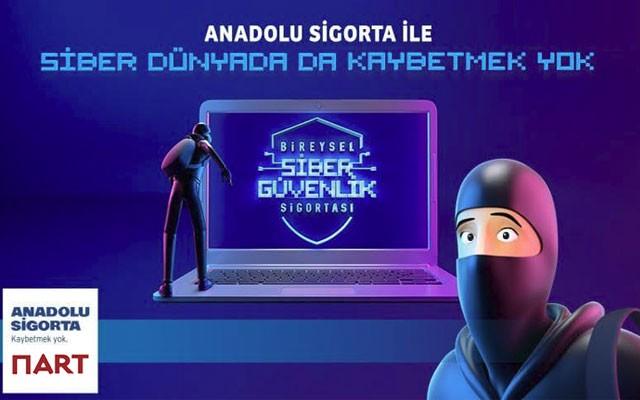 Nart ve Anadolu Sigorta'dan Bireysel Siber Güvenlik Sigortası