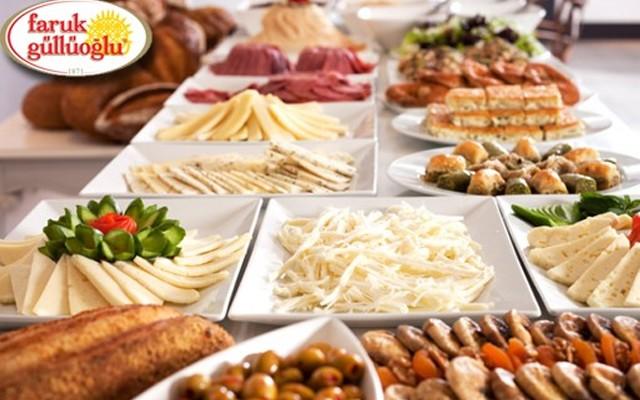 Faruk Güllüoğlu Yayla Şubesinde Açık Büfe Kahvaltı Menüsü