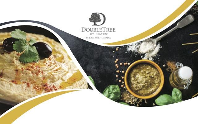 DoubleTree by Hilton Moda'dan Lübnan Lezzetleri ile Limitli Yerli İçecek Dahil Yemek Menüsü
