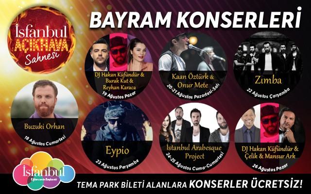 Tek Bilet İle Vialand İsfanbul Tema Park Girişi, İsfanbul Dreams by Anadolu Ateşi Gösterisi & Konserler