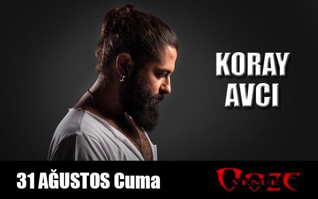 31 Ağustos Koray Avcı Ooze Venue İzmir Konser Bileti