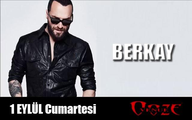 1 Eylül Berkay Ooze Venue İzmir Konser Bileti