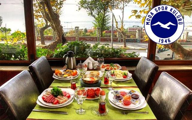 Moda Spor Kulübü'nde Sınırsız Çay Eşliğinde Zengin Açık Büfe Kahvaltı