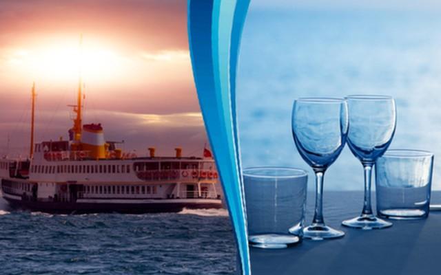 Efes Gemi Restaurant'ta Denize Nazır 2 Kişilik Enfes Balık Menüsü İle Ziyafet