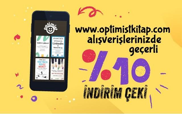 Optimistkitap.com'dan Yapacağınız Alışverişlerinizde Geçerli %10 İndirim!