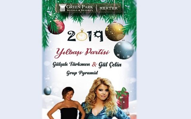 The Green Park Hotel'de Yılbaşına Özel Piramit Orkestra, Gülşah Türkmen ve Gül Çetin Sahnesi Eşliğinde Yemek