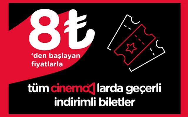 Grand Pera Cinemo ve Bulvar 216 Cinemo'da İndirimli Sinema Biletleri
