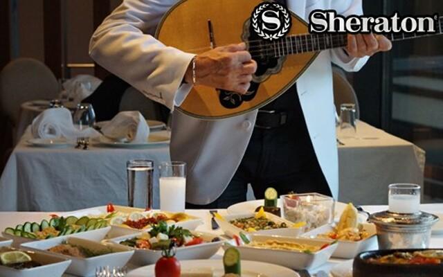 Sheraton İstanbul Ataköy Hotel'den Tadı Damağınızda Kalacak Yemekler Eşliğinde Limitsiz İçki Dahil Seçenekli Rum ve Taverna Geceleri