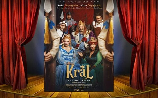 Güzin & Erdal Özyağcılar'ın Başrol Oynadığı 'Kral' Adlı Tiyatro Oyunu Bileti