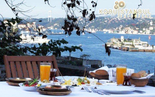 Koru İstanbul Kuruçeşme'de Boğaz Manzarası Eşliğinde Serpme Kahvaltı