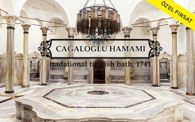 Tarihi Cağaloğlu Hamamı'nda Hamam Kullanımı, Kese, Köpük Masajı