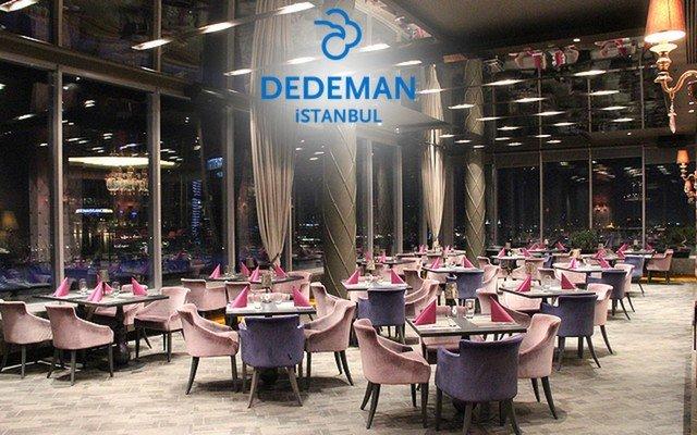 Dedeman Hotel İstanbul Roof Restaurant & Bar'da Canlı Müzik ve Limitsiz Yerli İçki Eşliğinde Yemek Menüsü