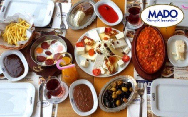 Yaşamkent Mado'dan Güne Enerjik Bir Başlangıç Yapmanızı Sağlayacak 2 Kişilik Serpme Kahvaltı Menüsü